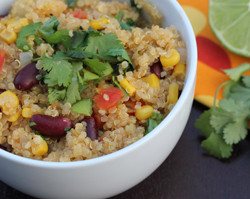 spicy quinoa thumb Recipe Index