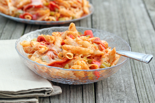 penne pizza bake 3 Weekly Meal Plan with Printable Grocery List   September 12th