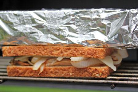 grilled turkey panini 5 Turkey, Mushroom, Onion & Swiss Grilled Panini Recipe