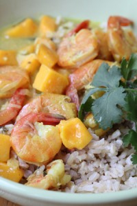 shrimp mango curry 200x300 Recipe Index